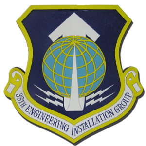 USAF 38th Engineering Installation Group Emblem