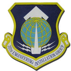USAF 38th Engineering Installation Group Emblem