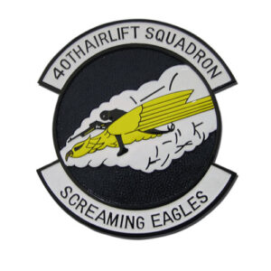 USAF 40th Airlift Squadron Emblem