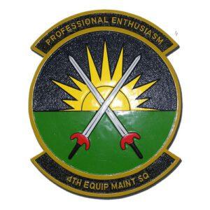 USAF 4th EMS Emblem