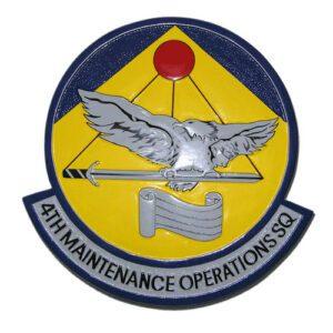 USAF 4th MOS Emblem