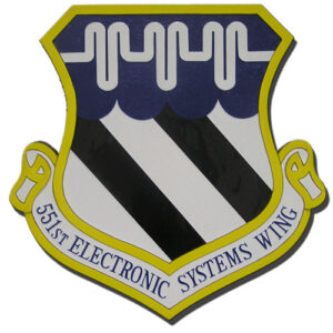 USAF 551st Electronic Systems Wing Emblem