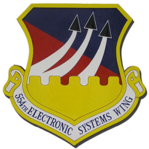 USAF 554th Electronic Systems Wing Emblem