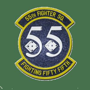 USAF 55th Fighter Squadron Emblem