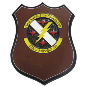 USAF 612th Support Squadron Emblem