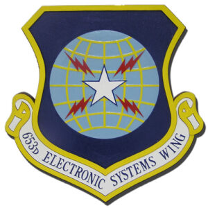 USAF 653rd Electronic Systems Wing Emblem