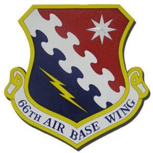 USAF 66th Air Base Wing Emblem