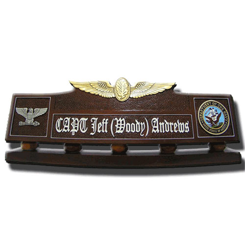 USAF Air Physiology Wing Desk Name Plate