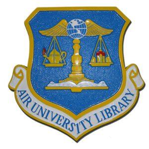 USAF Air University Library Emblem