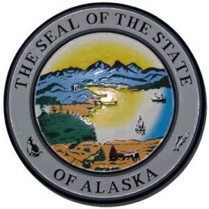 Alaska State Seal Plaque