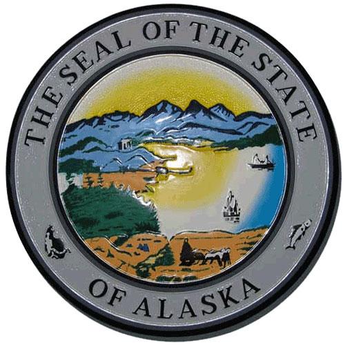 Alaska State Seal Plaque