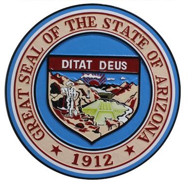 Arizona State Seal Plaque