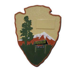 Camp David Command Seal Plaque