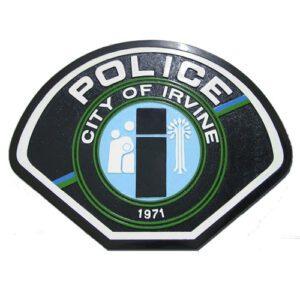 Irvine Police Department Plaque
