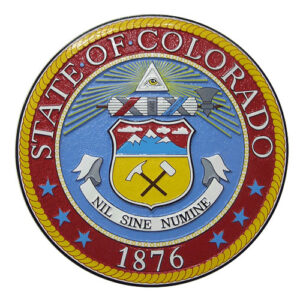 Colorado State Seal Plaque