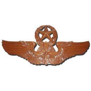 Command Flight Engineer Wings Insignia Plaque
