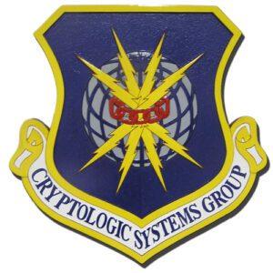 USAF Cryptologic Systems Group Emblem