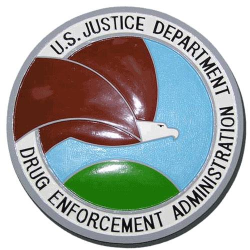 DEA Seal Plaque