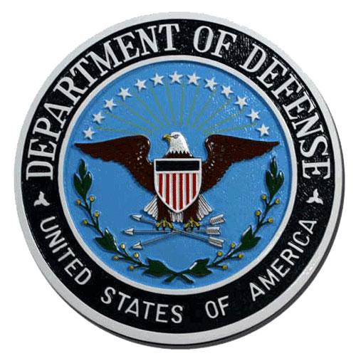 Department of Defense Dod Seal / Podium Plaque