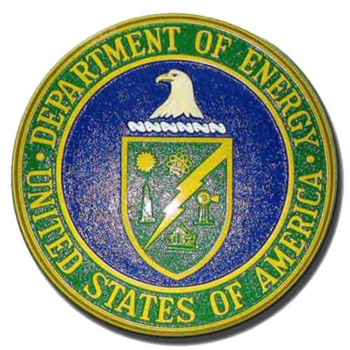 DOE Seal Plaque