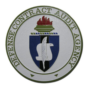 Defense Contract Audit Agency DCAA Seal / Podium Plaque