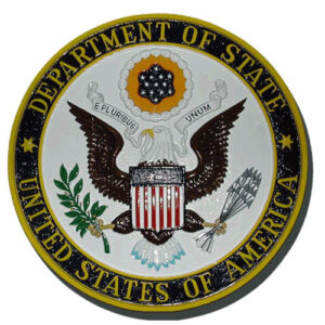 Department of State DOS Seal - Podium Plaque
