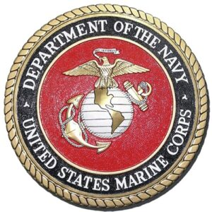 Navy-Marine Corps Seal Plaque