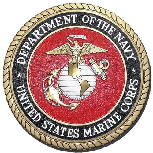 Navy-Marine Corps Seal Plaque