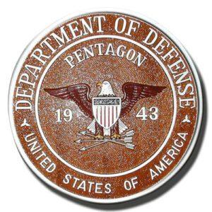 Pentagon 1943 Seal Plaque