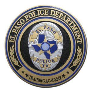 El Paso TX Police Dept Training Center Seal