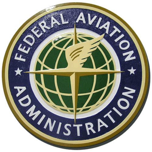 Federal Aviation Administration Plaque
