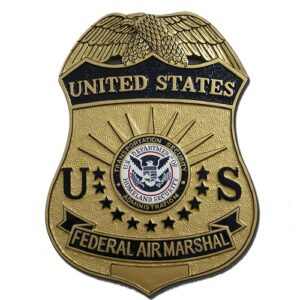 Federal Air Marshal Service FAMS Badge Plaque