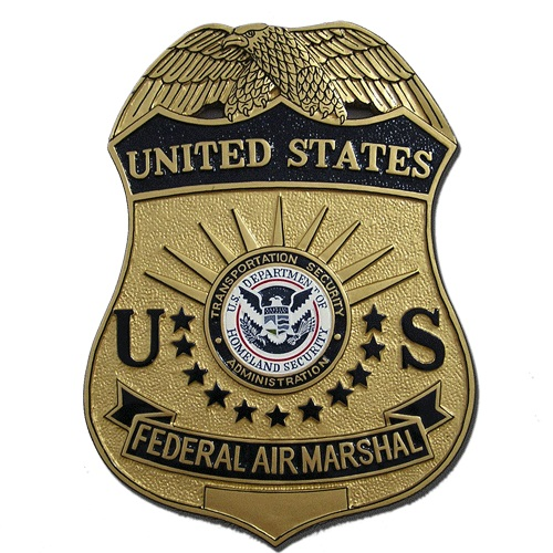 FAMS Agent Badge Plaque