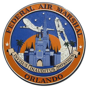 Federal Air Marshal Service Orlando Plaque