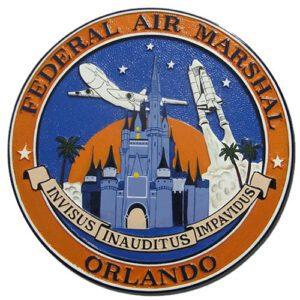 Federal Air Marshal Service Orlando Plaque