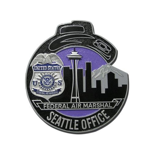 FAMS Seattle Office Plaque