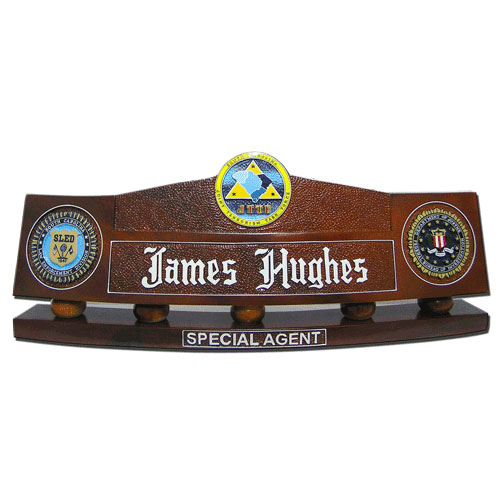 FBI-JTTF Desk Name Plate