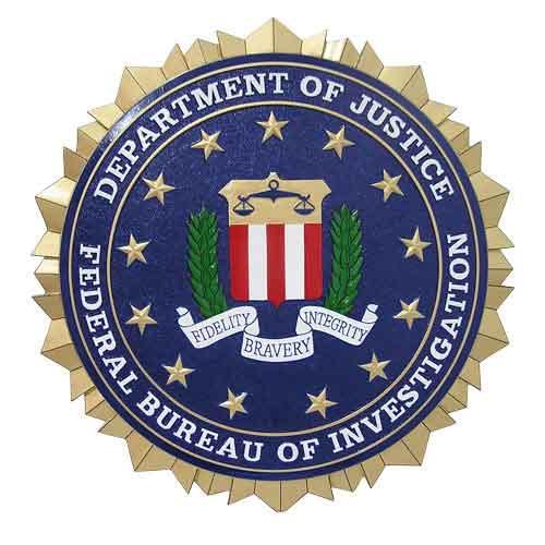 FBI Seal Plaque