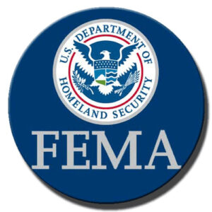 Federal Emergency Management Agency FEMA Seal Plaque (Round)