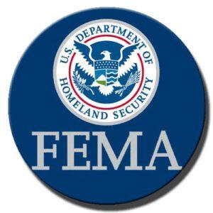 FEMA Plaque Round