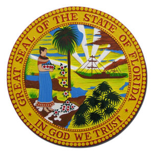 Florida State Seal Plaque