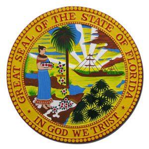 Florida State Seal Plaque