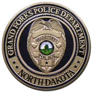 Grand Forks Police Department Plaque
