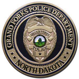 Grand Forks Police Department Plaque