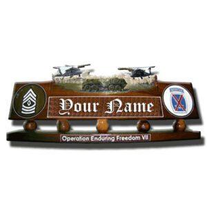 Army Humvee Desk Name Plate