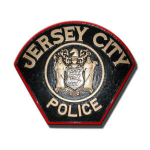Jersey City Police Department Plaque