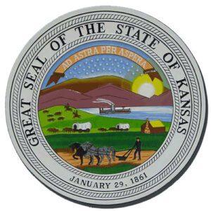 Kansas State Seal Plaque