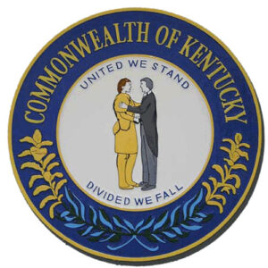 Kentucky State Seal Plaque