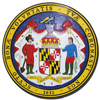 Maryland State Seal Plaque