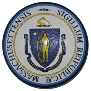 Massachusetts State Seal Plaque
